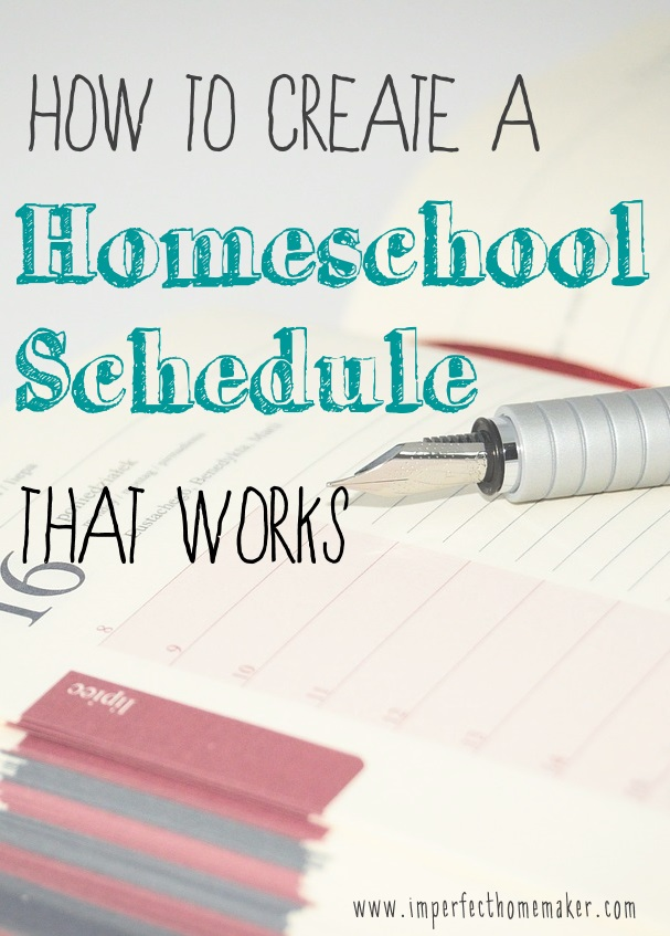 how to create a work schedule