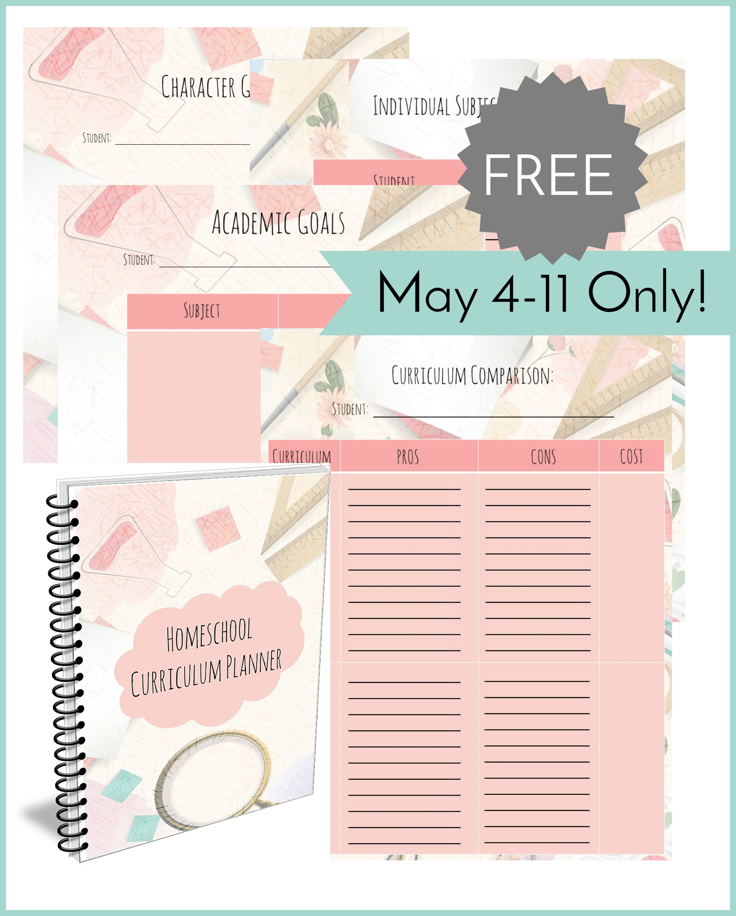 Worksheet Homeschool Free Curriculum homeschool curriculum planner free for a limited time planning worksheets determining your familys needs