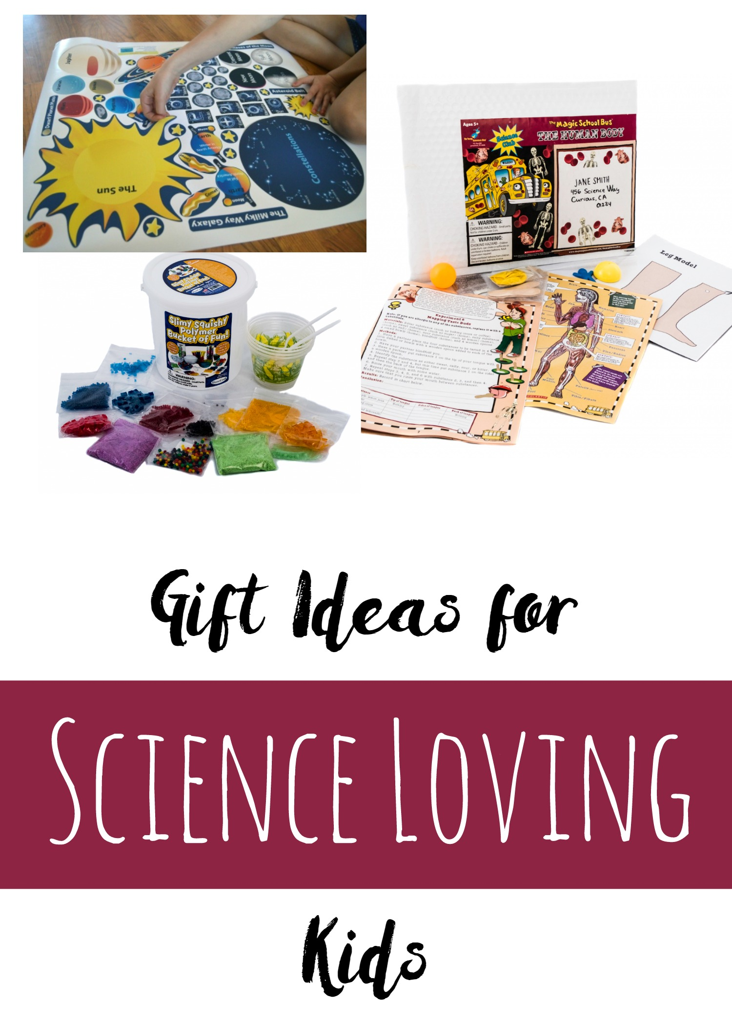 Educational Gift Ideas - gifts for science loving kids