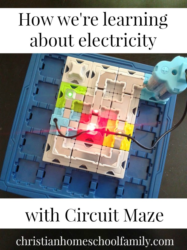 Learning about electricity with Circuit Maze   Homeschool STEM