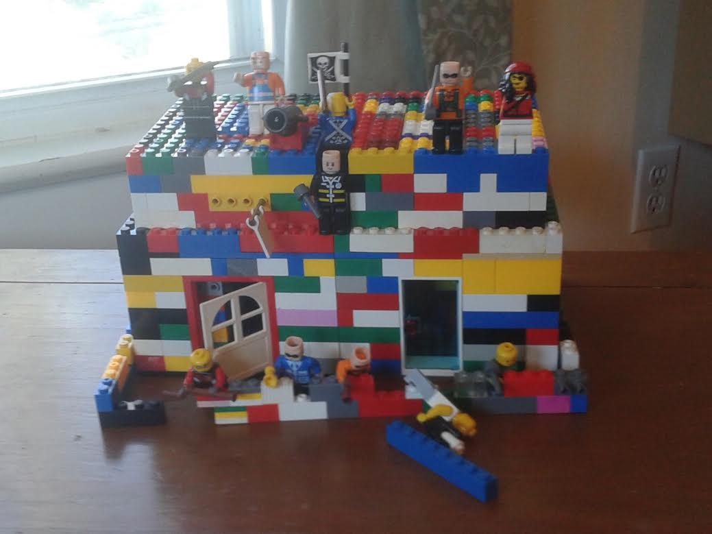 Lego fort idea | Christian homeschool family