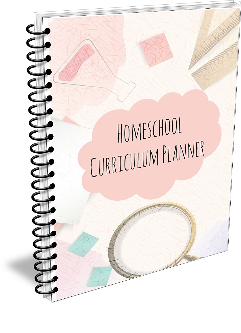 Homeschool Curriculum Planner - worksheets for determining your yearly curriculum