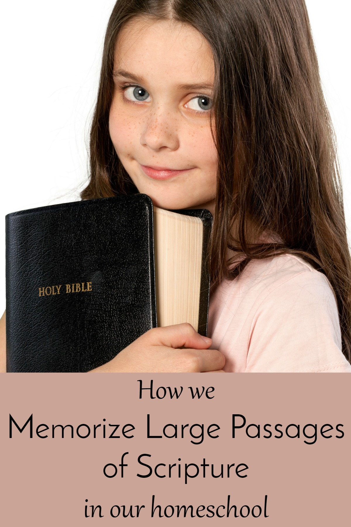 Memorizing Scripture in homeschool - works great with Charlotte Mason style