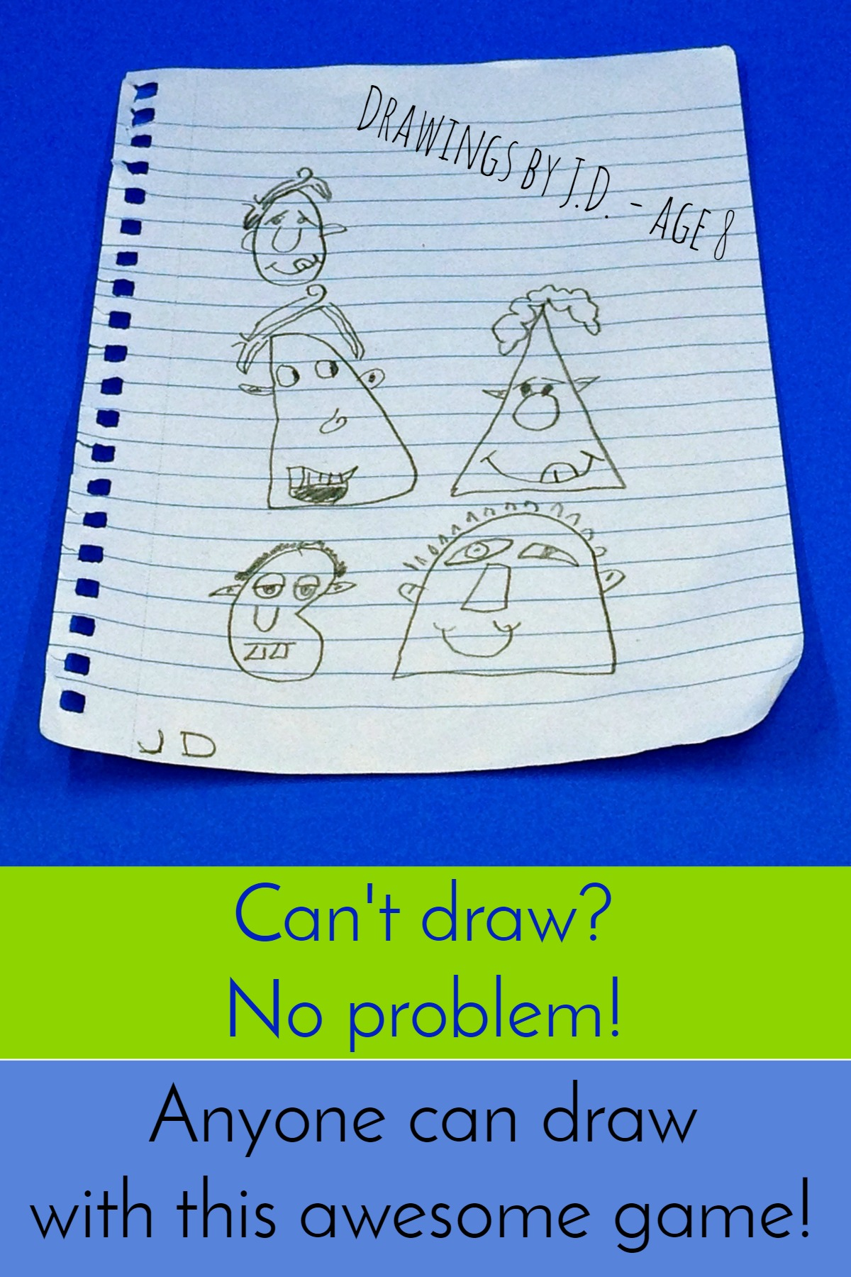 Anyone can draw with this simple and fun game!